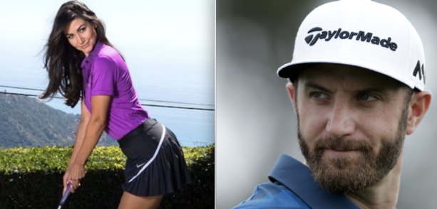 Checkout The Girl Responsible For Breaking Up Paulina and Dustin Johnson