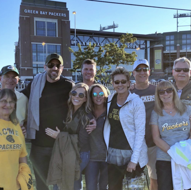 Aaron Rodgers Family Came to The Game On Sunday