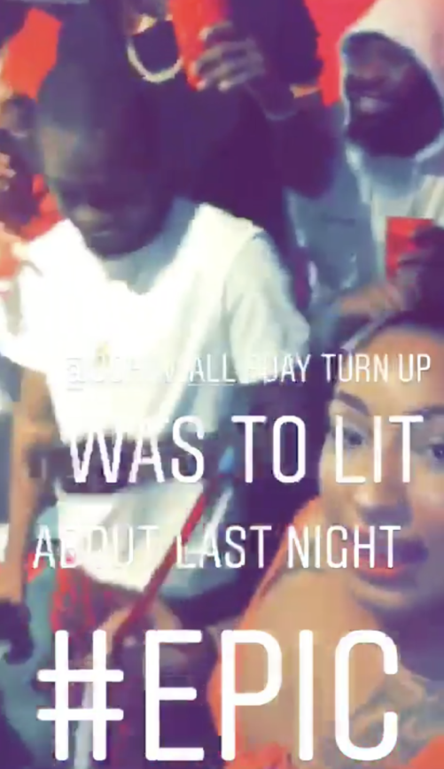 John Wall Spotted In The Club With IG Model