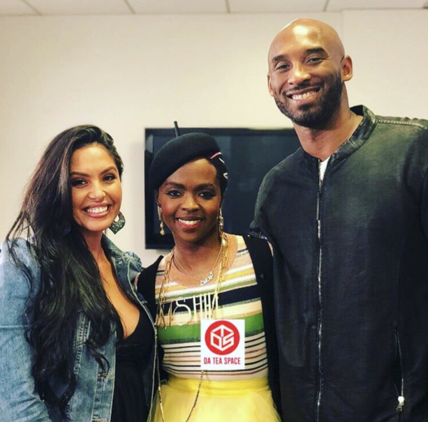 Kobe Bryant  And Wife Have Date Night at Lauryn Hill Concert
