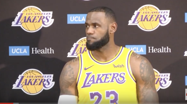 LeBron James Passive Aggresive Media Day Interviw Was Fun To Watch