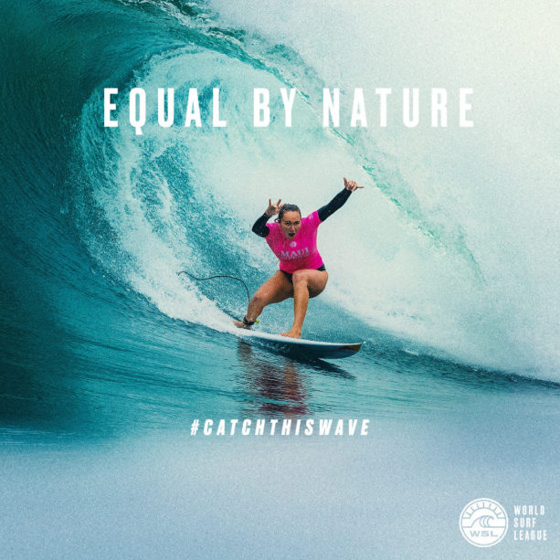 World Surf League Announces Equal Prize Money For Men And Women In
