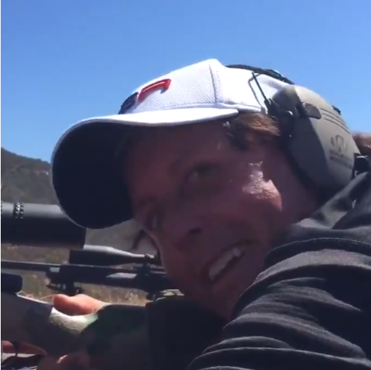 Phil Mickelson's Ryder Cup Prep Includes Long-Range Sniper Shooting