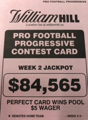 Gambler Cashes In 17000-to-1 Payout By Correctly Picking All Week 2 Games