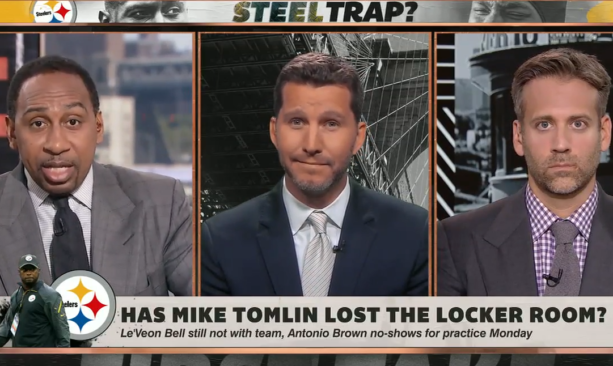 VIDEO: Stephen A. Smith Goes At Will Cain In Mike Tomlin Debate