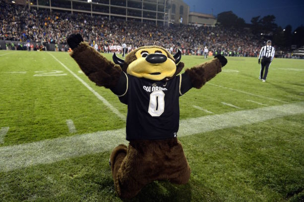 Colorado's Mascot Shot Himself In The Junk With A T-Shirt Gun