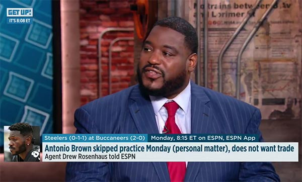 ESPN's Damien Woody Explains Why The Steelers Are A Mess (VIDEO)