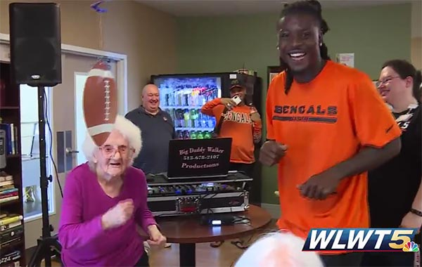 VIDEO: Bengals Nursing Home Tailgate Party Is Lit AF