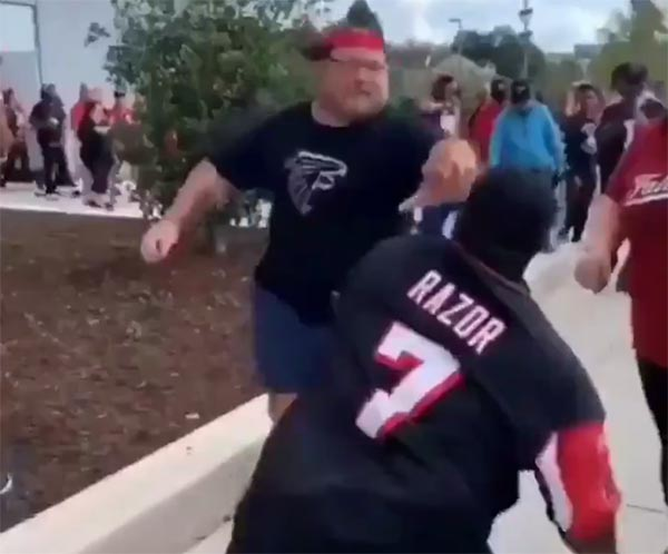 Falcons Fans Going HAM After Loss To Saints (VIDEO)