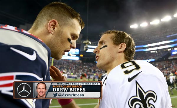 WATCH: Drew Brees Doesn't Compare Himself To Brady Or Rodgers