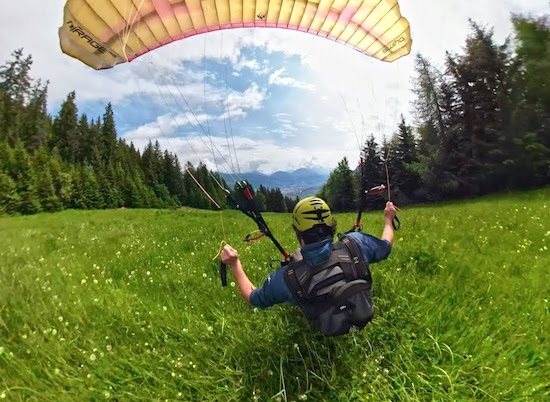 Video- How to Shred Speedflying Style