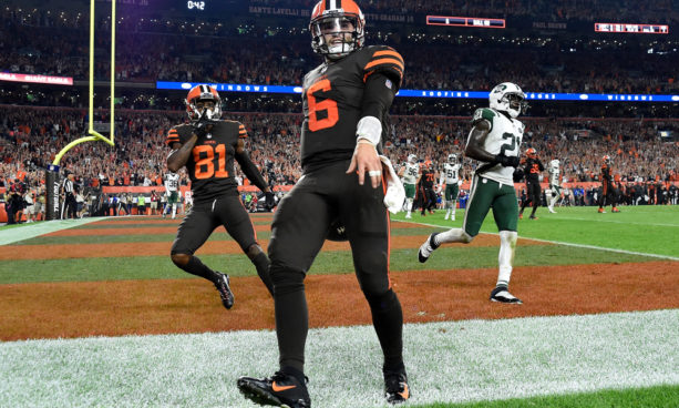 LeBron James Congratulates Baker Mayfield On His First Win