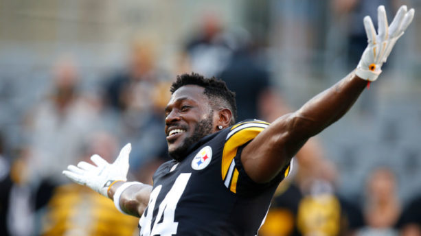 Report: Antonio Brown Did Not Report to Work Monday