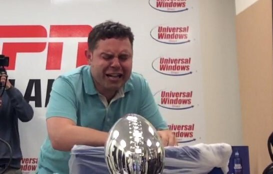 ESPN Cleveland's Aaron Goldhammer Finally Ate Horse Crap (Allegedly)