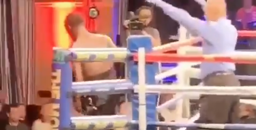 Boxer Quits After Getting Punched In The Face (VIDEO)
