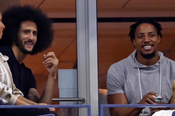 Colin Kaepernick and Eric Reid Got a Warm Welcome from the Crowd at the US Open