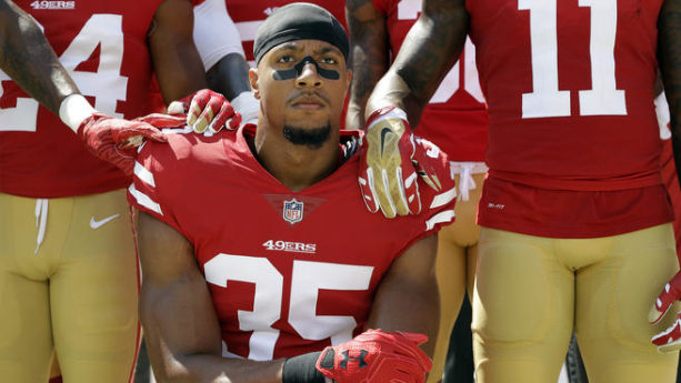 REPORT: Panthers Sign Eric Reid Despite Kneeling Controversy