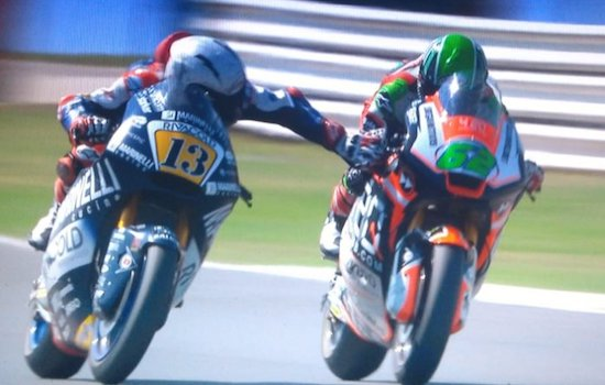 Damn!Rider Sparks Fury After Grabbing Rival's Brake Lever At 140mph