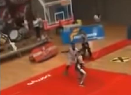 American Basketball Player Gets The Boot From Austrian Team For Brutal Sucker Punch
