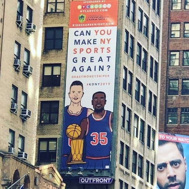 Stephen A. Smith Went HAM Ripping The Kevin Durant Billboard In New York (VIDEO)