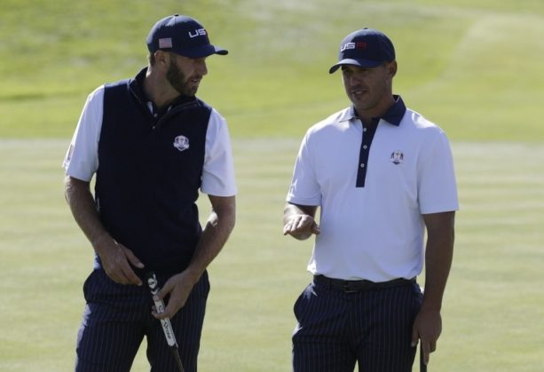 Report: Dustin Johnson And Brooks Koepka Almost Threw Fists