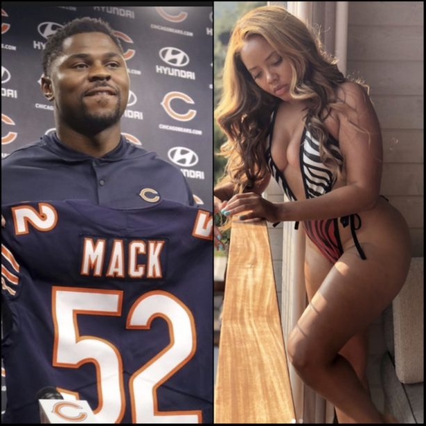 Khalil Mack and Angela Simmons Taking The Next Step In Their Relationsip?