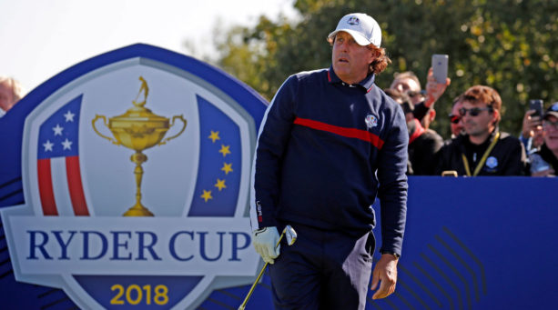 Phil Mickelson complains about 'unplayable' Ryder Cup course: 'I don't play like that'