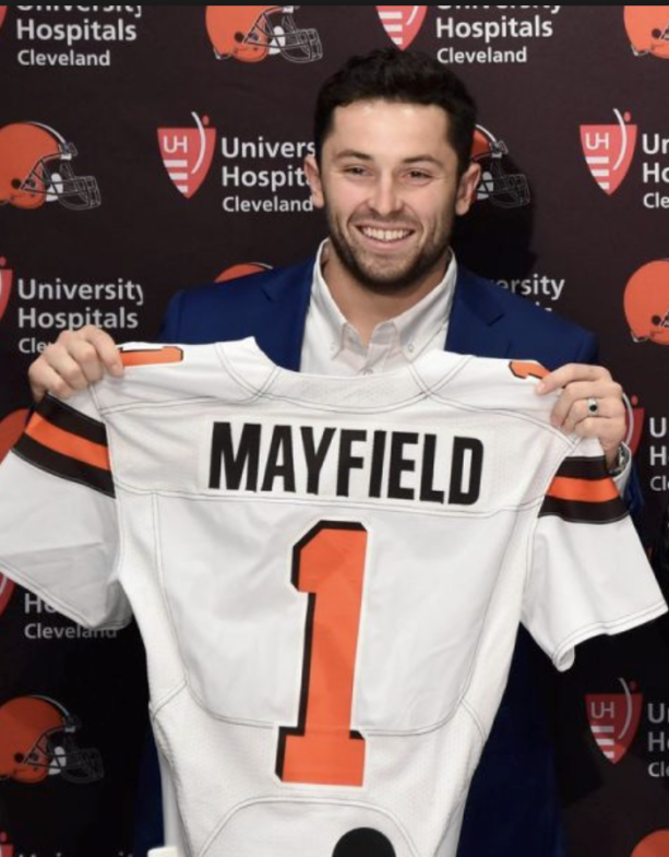 Baker Mayfield Pleasured Himself On Video & Sent To More Than One Female