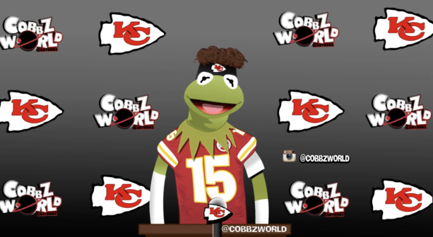 Checkout Patrick Mahomes Kermit the Frog Parody It's Awesome