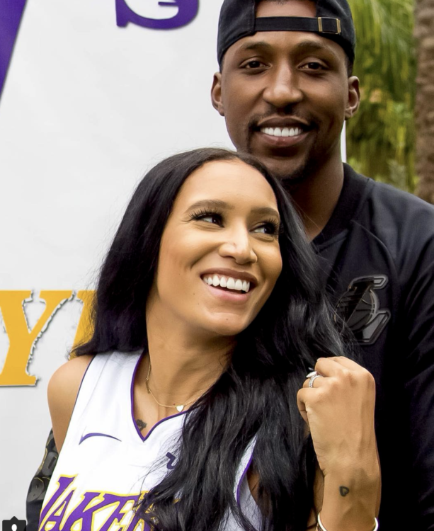 Checkout Laker Kentavious Caldwell-Pope's Wife McKenzie