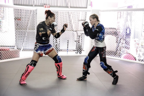 The Two Baddest Women On The Planet Training Together