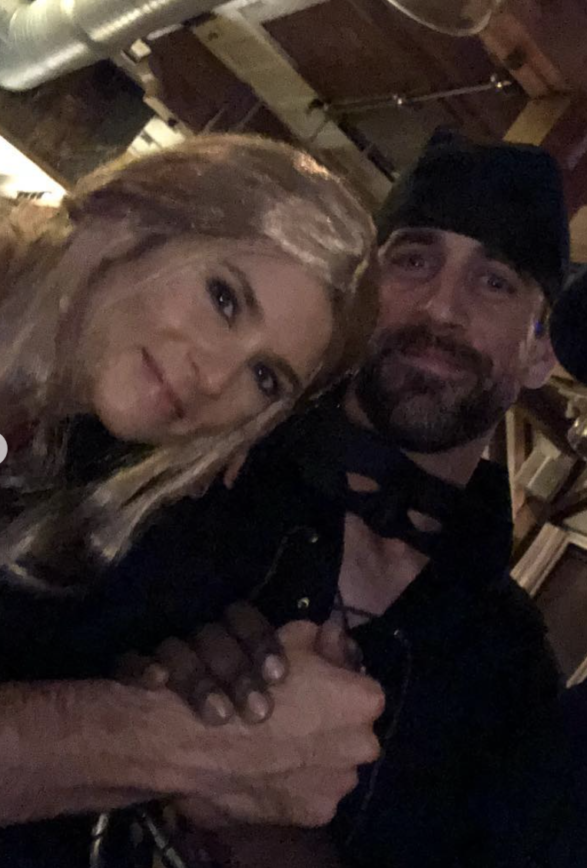 Danica Patrick and Aaron Rodgers Get Dressed Up For Halloween Party