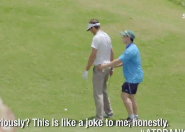 This Asian Tour Caddie Prank Is Amazing (VIDEO)