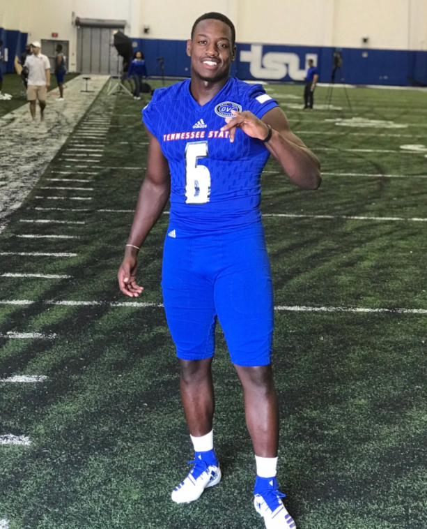 Tennessee State LB Christion Abercrombie's Mom Shares Uplifting News About Her Son