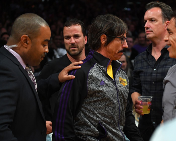 Red Hot Chili Peppers' Anthony Kiedis Also Got Ejected After The Lakers And Rockets Brawl