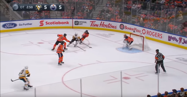 Sidney Crosby's OT Game Winner Last Night Against Edmonton Was Nuts