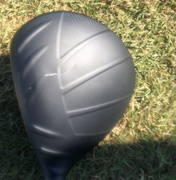 Cameron Champ Cracked His Driver Right Before Teeing Off Sunday
