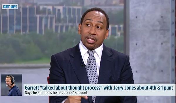 Stephen A. Smith Explains Why The Cowboys Need To Fire Jason Garrett