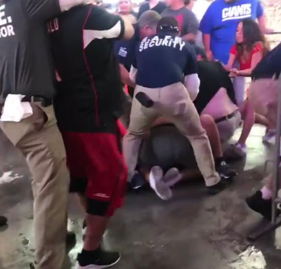Brawl Breaks Out At Cardinals-Seahawks Game – Multiple Arrests (VIDEO)