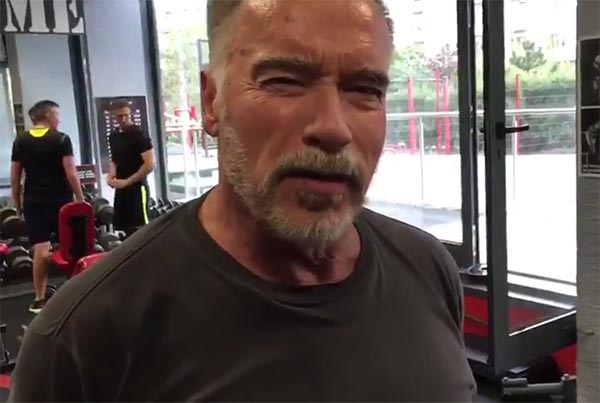 Arnold Schwarzenegger To LABron James: 'I'm counting on you'