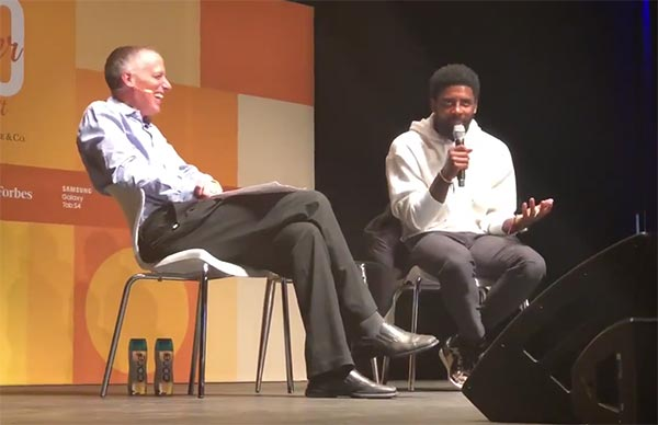 Kyrie Irving On Saying The Earth Is Flat: 'I was huge into conspiracies'