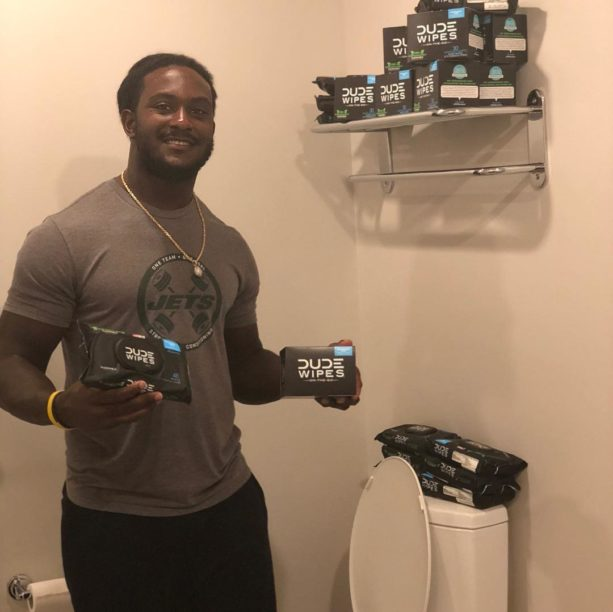 Jets' Isaiah Crowell Turns Butt-Wipe TD Celebration Into Endorsement Deal