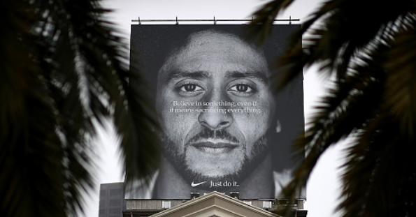 REPORT: Colin Kaepernick Files To Trademark Image Of His Face & Afro