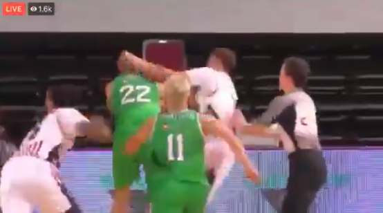 LaMelo Ball Ejected For Slapping A Lithuanian (VIDEO)