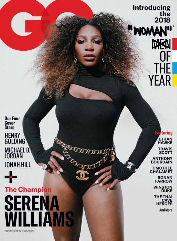 Serena Williams Named GQ's Women Of The Year