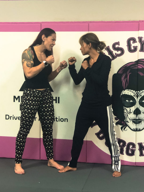 UFC Champion Cris Cyborg Squares Up With Halle Berry