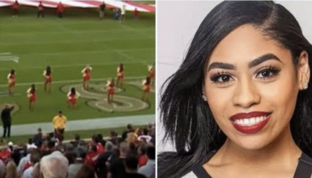 Checkout The 49ers Cheerleader That Took A Knee