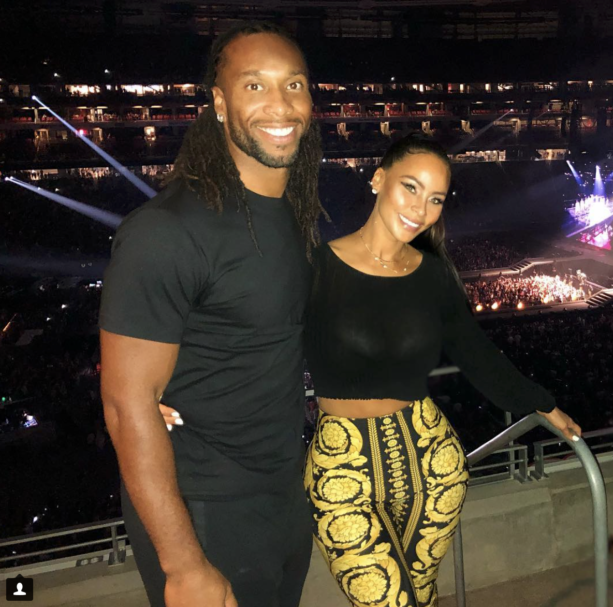 Checkout Larry Fitzgerald's Girlfriend Melissa Blakesley