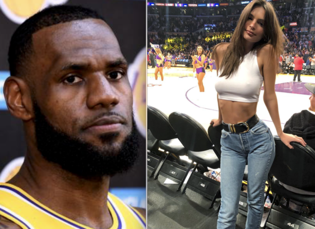 LeBron James Has Girls Checking In At Lakers Games
