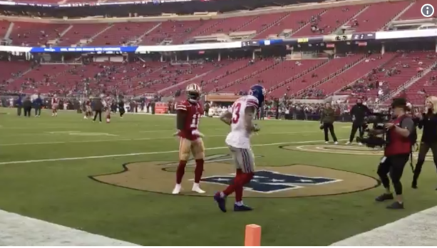 VIDEO: Odell Beckham Jr. and Marquise Goodwin Perform Pregame Dance-Off
